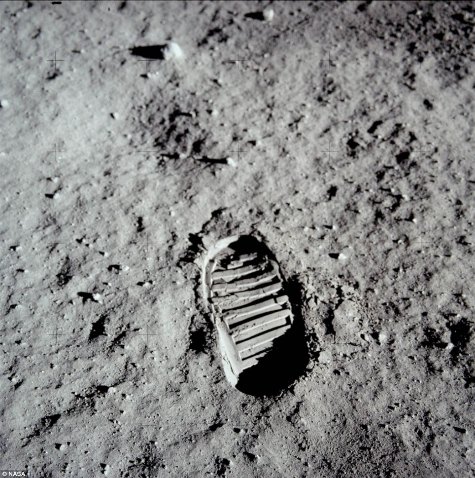 That's one small step for a man, but one giant leap for mankind